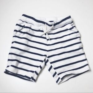 3/$12 Old Navy Blue and White  Drawstring Shorts